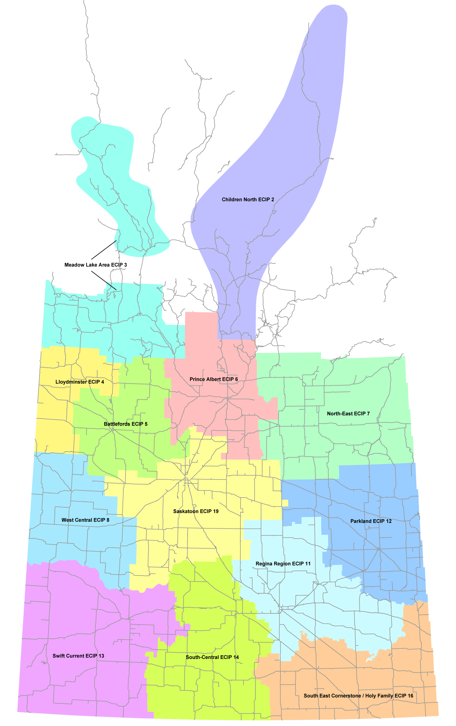 Saskachewan ECIP Locations